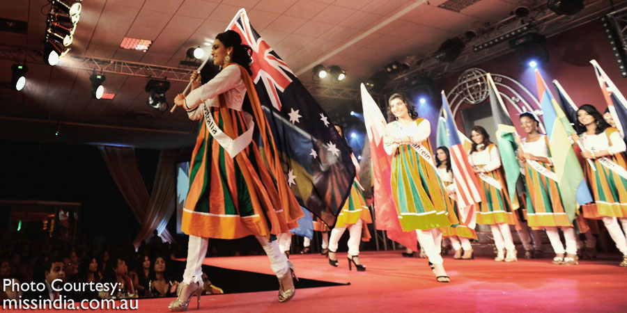 Olivia Rose represents Australia in Suriname, South America