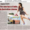 Zenia Starr Raj Suri Miss India Australia 2013 in the press