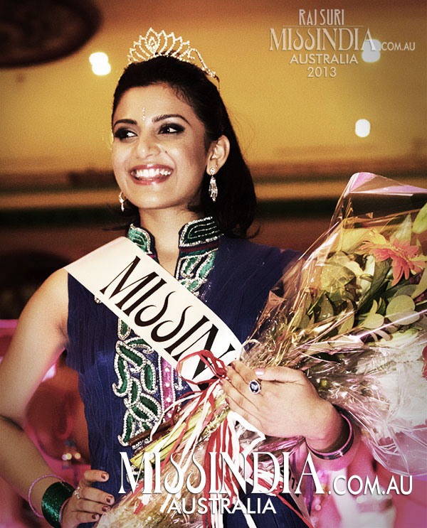 Zenia Starr Miss India Australia winner 2013