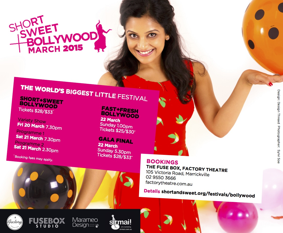 Short + Sweet Bollywood 2015, Sydney