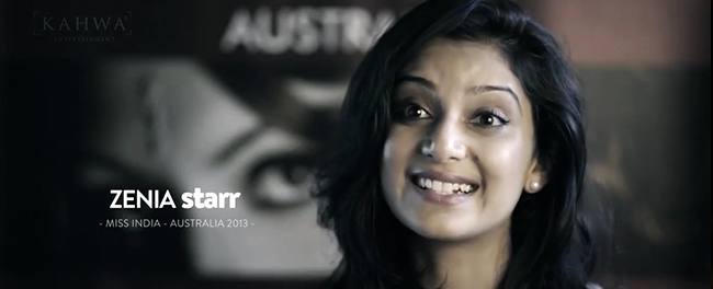 Raj Suri Miss India Australia 2013 Zenia Starr first Bollywood film