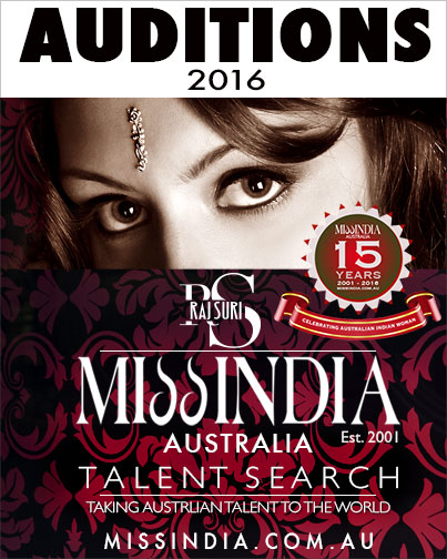 Miss India Australia Raj Suri Audition 2016