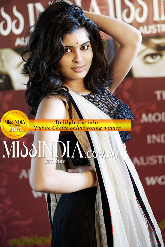 Miss India Australia Public Choice 2015