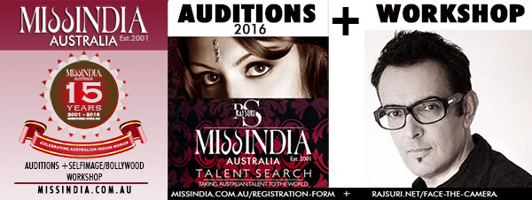 Miss India Australia audition by Raj Suri