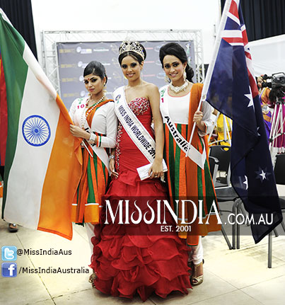 Ankita Ghazan and Olivia Rose - Miss India Australia winners in Suriname