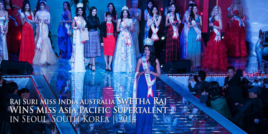 Swetha Raj is Miss India Australia 2014
