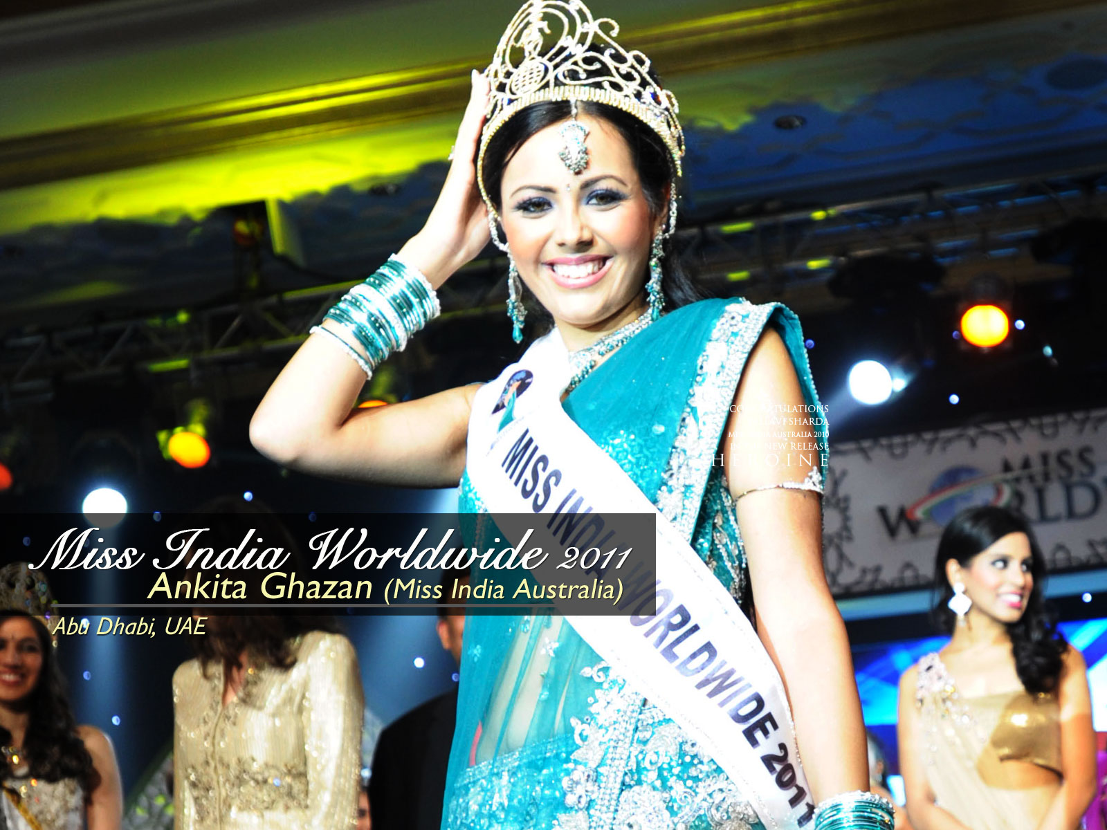 Ankita wins Miss India Worldwide 2011