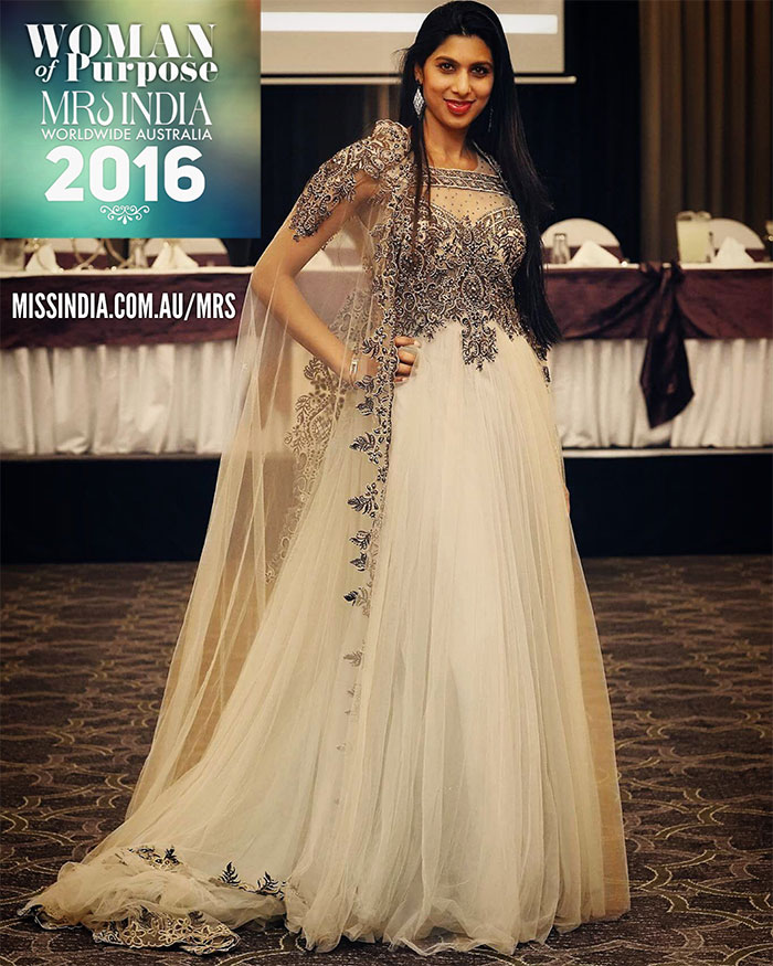 Woman of Purpose Mrs India Worldwide Australia 2016