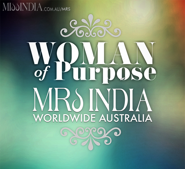 Woman of Purpose Mrs India Worldwide Australia