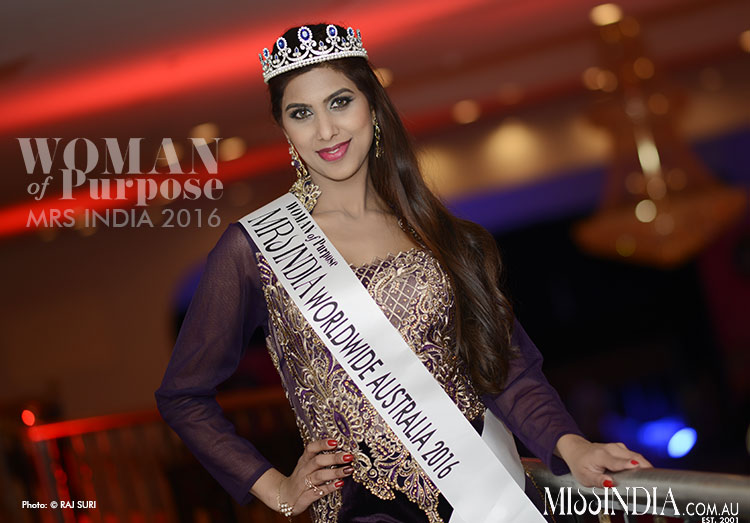 Woman of Purpose Mrs India Australia 2016