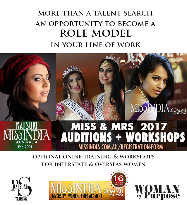 Miss India Australia 2017 Call for Entries