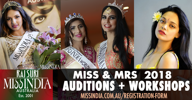 Miss India Australia 2018 Auditions