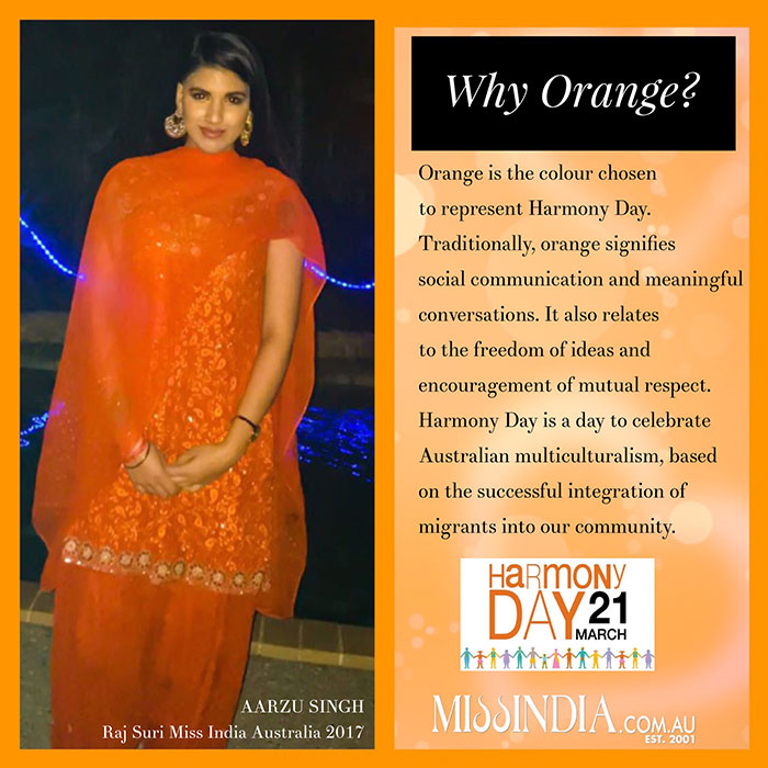 Harmony Day 2018 – Miss India Australia