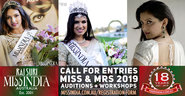 Miss India Australia 2019